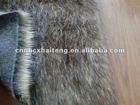tip dyeing fake fur/peacock fur/plush