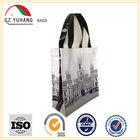 High quality organic PVC coated cotton shopping bag