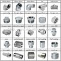 """Cangzhou iso9001 produttore: tubo di raccordo in acciaio inox, npt/bsp/din2999 filo, 1/8""""Il-6"""", 150 psi"""