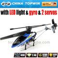 2.4 G 3.5ch del propulsor rc de automóviles de pasajeros helicópteros