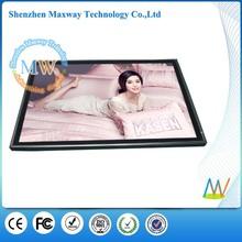 """Desktop or wall mount 19"""" digital photo frame"""