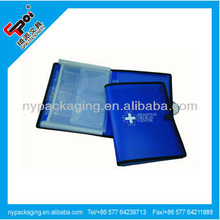 Factory expanding file with notepad/expandable file folder with notepad