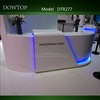 2014 Dowtop Contemporary pure white curved beauty salon reception desk