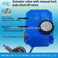 ac 230v de fugas de agua de alarma inalámbrica detector fugas de agua electrónico con la válvula de bola