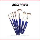 Best quality synthetic / nylon hair make up brush set