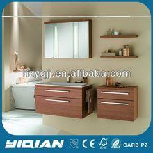 Ikea Style Furniture Modern Cheap E1 Grade MDF Borad Veneer Melamine Furniture Modern Bathroom Furniture