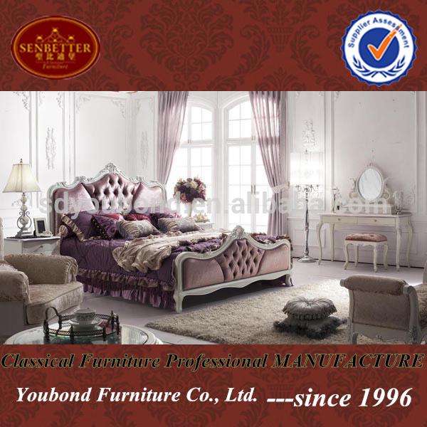 2014 Neo-classic wood furniture Y07 bedroom, View modern bedroom