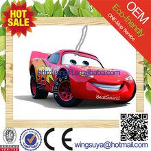 2015 new car scent custom make hanging paper car air freshener wholesale