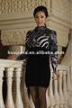 Robe pull à la mode pour les femmes / 100% maille de cachemire pur