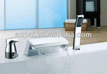 2012 's 3 pieces bath Faucet shower with handheld(M-8007-1)