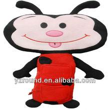 ladybug seat belt cars toy cushion for baby