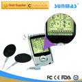 G- polyester, magnétique. pulser placage de métaux stimulateur musculaire société batterie rechargeable générateur basse fréquence personnalisécarte 9126