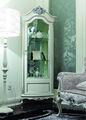 Novo clássico armário de canto/estilo europeu sólido disply gabinete kj-a1057