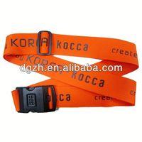 nylon password lock luggage belt