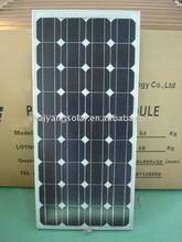 90W Mono-crystalline /pv solar panel high efficiency&good price