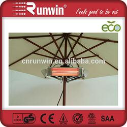 Electric Halogen Umbrella Parasol Patio Heater