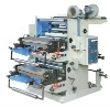 two colors normal speed flexo printing machine