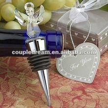Crystal Angel Wedding Wine Bottle Stopper