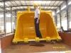Volvo spare parts large excavator bucket volume volvo 700 with capacity 4cbm