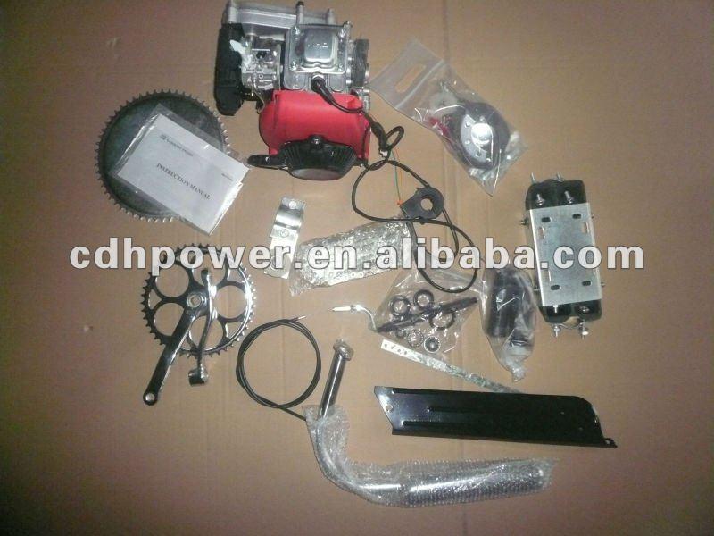 Venda quente 4 ciclo kit motor/4 tempos bicicleta motorizada motor kits/4 ciclo motor moto kits cdh 49cc
