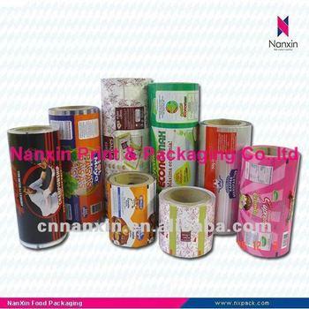 packaging plastic film for sachet