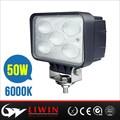 Liwin 50 w llevó la luz de trabajo para scooter eléctrico auto partes atv luz de la linterna