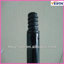 smooth Metal floor scraper Handles / supply supermarket metal sticks / 100cm toilet plunger handle