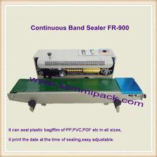 Hot Sell FR-900 Horizontal Sealing Machine,Plastic Bags Continuous Band Sealer