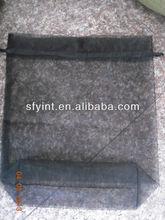 drawstring round pouch organza bag