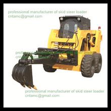 with backhoe attachment skid loader JC 65G skid steer loaders/75hp/loading capacity 950kg