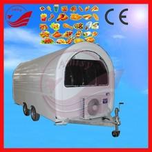 Ice cream, Hot dog, Chips Application Street Mobile Fast Food Cart Trailer For Vending Chips, Hotdog, Icecream, Cakes