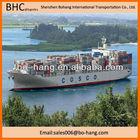 PVC resin furniture ceramic building materials ect sea shipping service