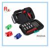 24pcs Mini Gift Tool Kit Hand Tool Set with Flashlight RX204A