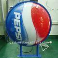 Primera opción curvo Pepsi decorativos para la pared