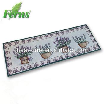 Lavande longues tapisserie tapis de cuisine for Tapis long cuisine