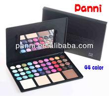 HOT SELLING! Pro 44 color makeup palette,eyeshdow&powder compact