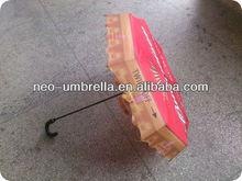Fashionable bottle cap umbrella promotional