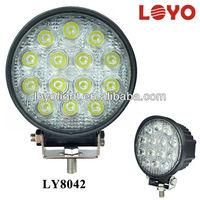loyo promotions! 2800lm 42w round led SPOT / FLOOD light,led work light