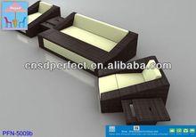 elaborate quadrate white wash factory outlet pe rattan club chair