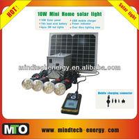 kit+solar+de+la+bomba with 4 led bulbs and USB charging