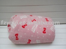 various styles summer fleece blanket for air-conditioning use