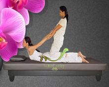 Soild Wood Thai massage bed TM608, thai massage table,Thai style couch