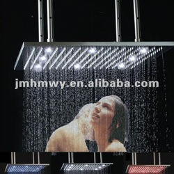 led rainfall shower head made in Guangdong