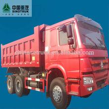 2015 10 nueva rueda de sinotruck howo volcado de camiones para la venta