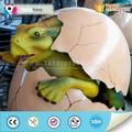 Amusement park animatronic fibra de vidro ovo de dinossauro