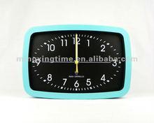 fashion green metal 6 inch wall clock