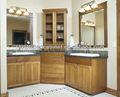 modern kırmızı veya claybank yeni banyo dolap