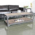 Reciclar oa-4006 elm mesa de café móveis móveis antigos