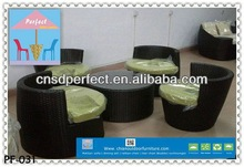 bright colored outdoor furniture