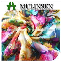 Hot Sale Silk Chiffon Dress Fabric/ 2014 New Fashion Custom Digital Printed Fabric